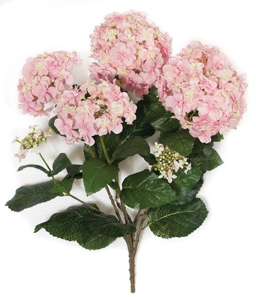 24 Inch IFR Hydrangea Bush - Lavender, Pink, Cream/White