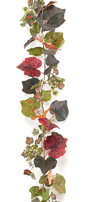 6 Foot IFR Grape Leaf Garland