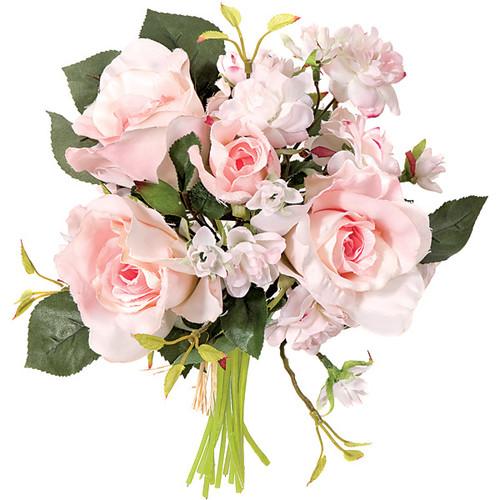 "P-6604010"" Pink Rose Bouquet"