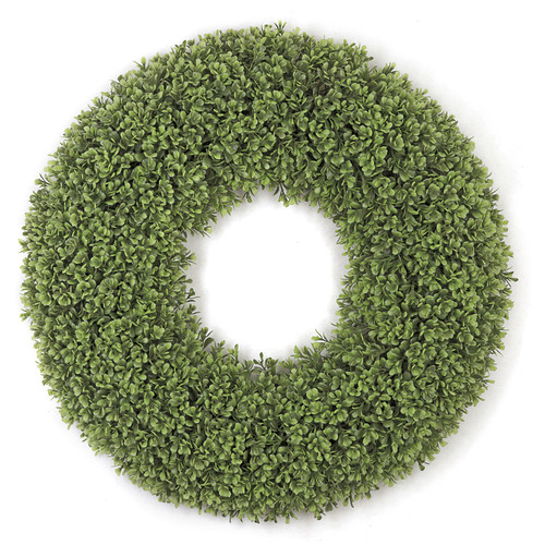 22 Inch Boxwood Leaf Wreath