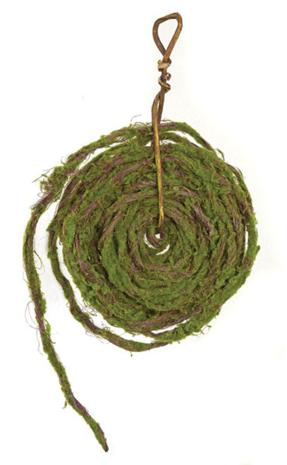 33 Foot Rolled Moss Garland