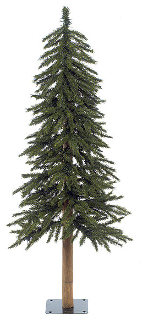 4 Foot Alpine Trees with Lights or Without Lights