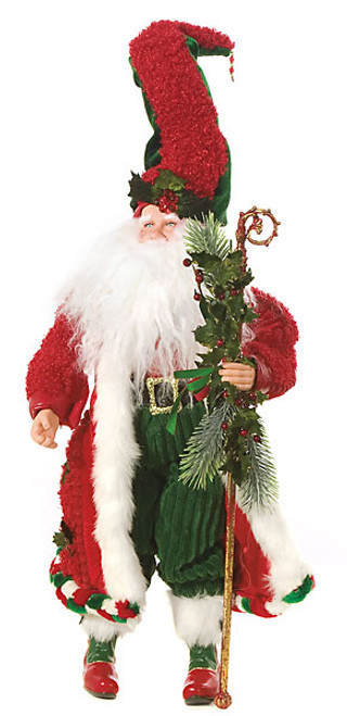27 Inch Santa Claus with Cane