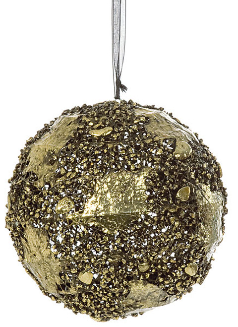8 Inch Wire Ball Ornament