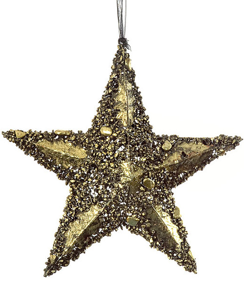 11.5 Inch Wire Star Ornament