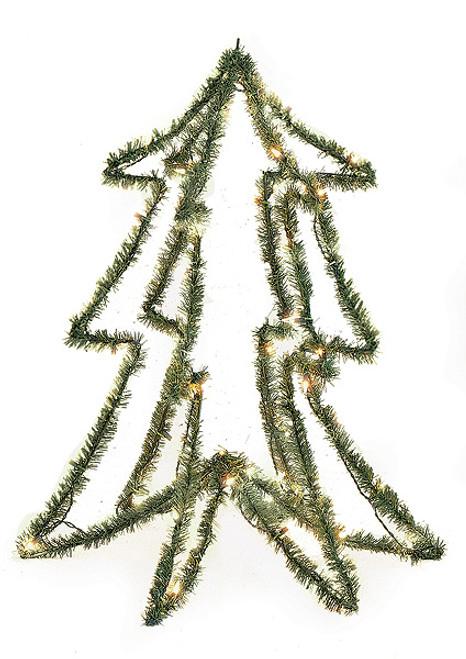 3 Foot PVC Prelit Form Tree