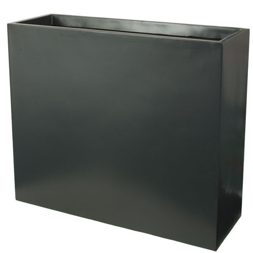 35 Inch  x 12 Inch  x 30 Inch Matte Dark Grey Planter Box