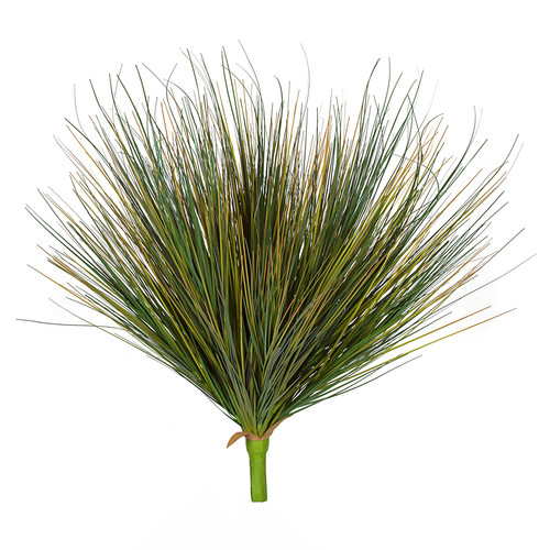 24 Inch PVC Green Onion Grass Bush