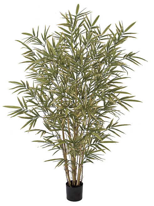 PR-160745 - Fire Retardant 6' Royal Bamboo Palm  with 7 Canes