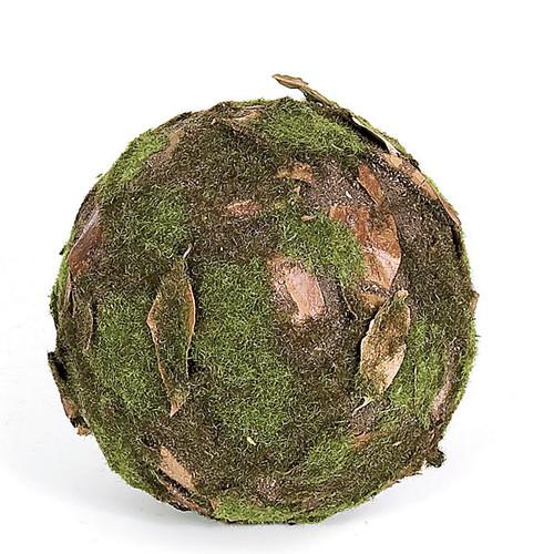 6 Inch Moss Leaf Ball