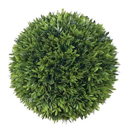 10 Inch Plastic Podocarpus Ball
