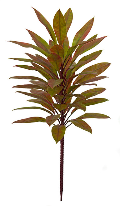 36 Inch Cordyline Plant - Green/Red
