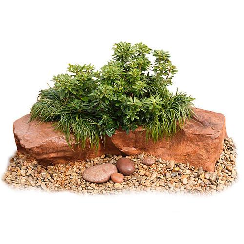"""54"""" x 30"""" x 12"""" Lightweight Planter Rock"""