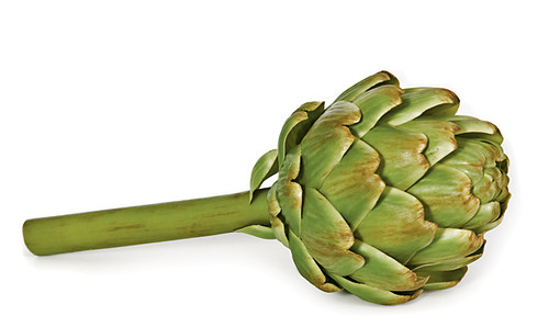 10 Inch Green Artichoke Head