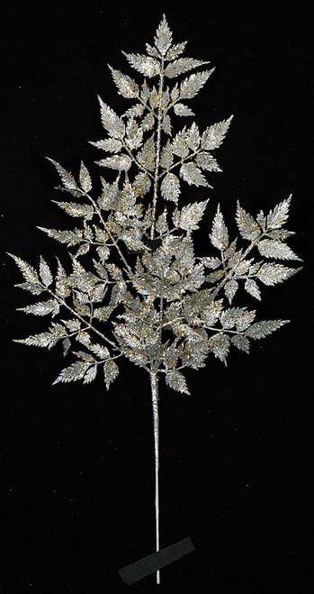 """A-17018023"""" Glittered Leaf"""
