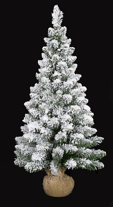 36 Inch Flocked Tree