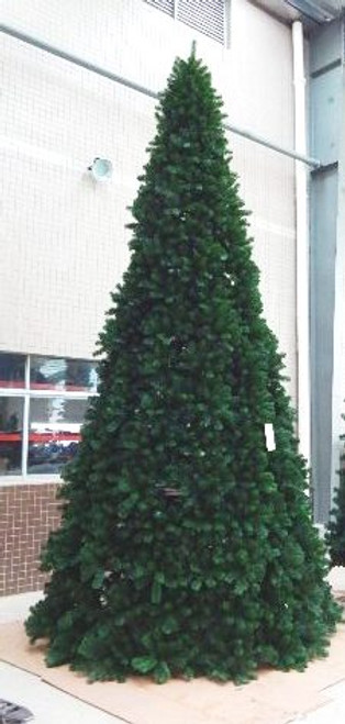 20 Foot Full Size Virginia Pine Panel Tree - No Lights