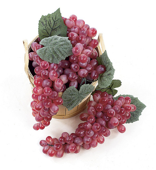 11 Inch Grape Cluster - Light Wine (Sold Per Cluster)