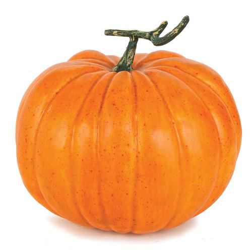 10 Inch x 8 Inch Foam Pumpkin
