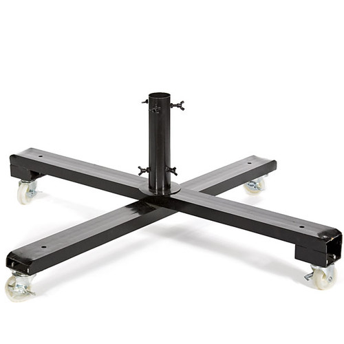 """C-11457742"""" Metal Tree Stand with Wheels"""