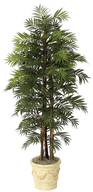 W-27606' Parlour Palm Decorative Pot Sold Separately