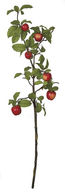 43 Inch Red Apple Spray