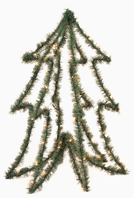 4 Foot PVC Prelit Tree Form