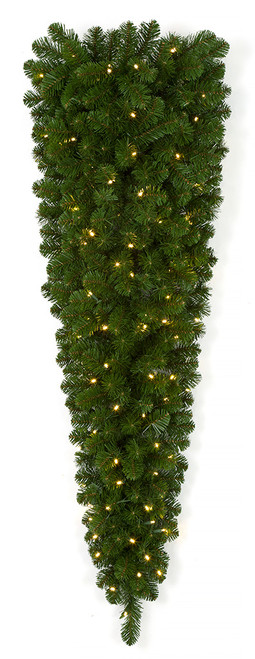PVC Oregon Teardrop Swag Unlit or LED Lights  in  36 Inch, 48 Inch, or 60 Inch