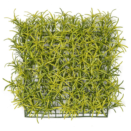 11.5 Inch Yellow/Green Podocarpus Leaf Mat