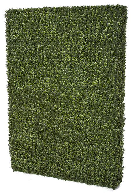 48 Inch x 8 Inch x  65 Inch UV Boxwood Hedge / Boxwood Screen