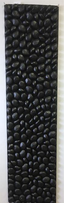 4' x 1'  Rock Mat Black