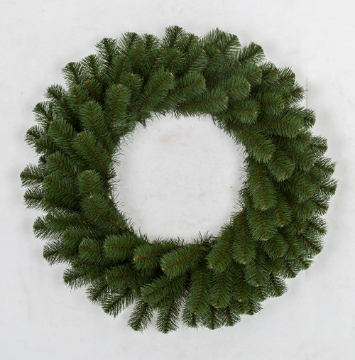 30 Inch and 36 Inch PVC Australian Pine Wreaths with No Lights