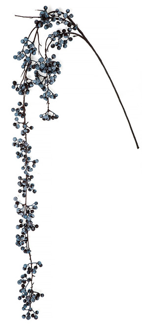 56 Inch Artificial Blueberry Vine