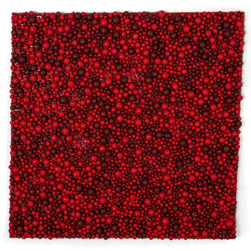 19 Inch x 19 Inch Foam Multi-Red Berry Floor or Wall Mat