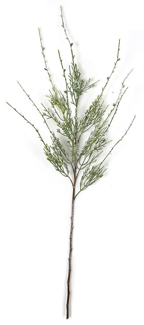 39 Inch Frosted Natural Pine Spray Branch