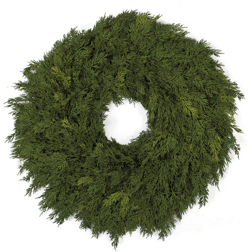 28 Inch Natural Touch Mixed Pine Wreath