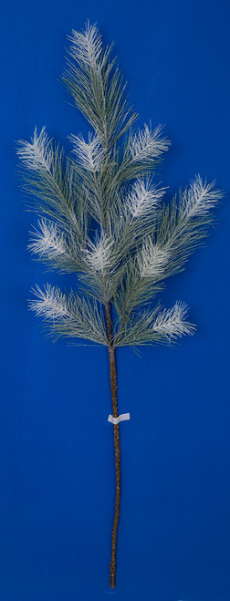 48 Inch Frosted/Glittered Long Needle Pine Spray
