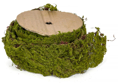 78 Inch x 2.5 Inch Natural-like Artificial Moss Garland Roll