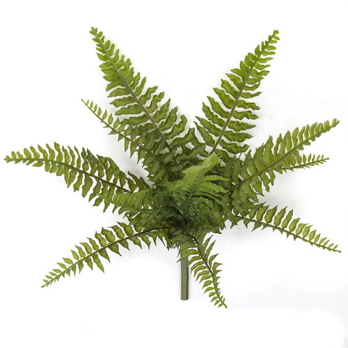"A-172130 16"" Fern Bush Plastic Fronds"