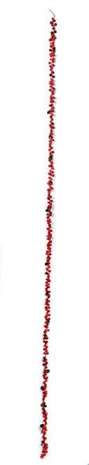 9 Foot Styrofoam Red or Burgundy Berry Garlands