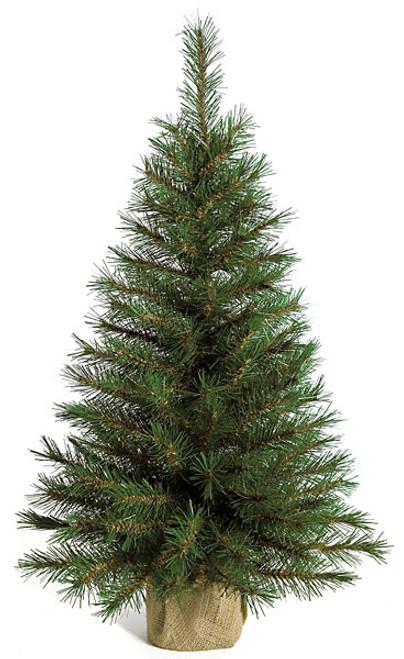 C-706203' Mini Pine TreeBurlap Base
