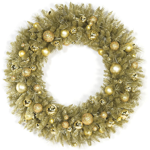 48 Inch Champagne Wreath