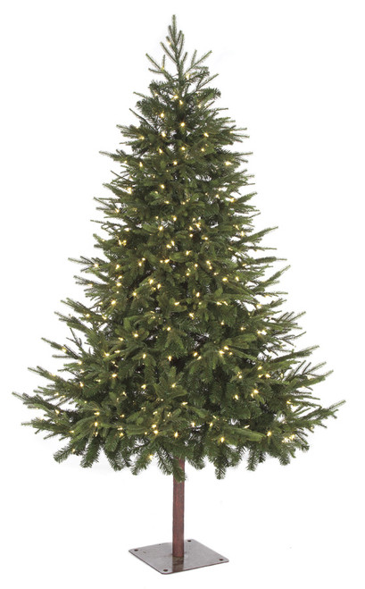 C-1604547.5 ft. Red Spruce Tree with Natural TrunkPE/PVC Tips