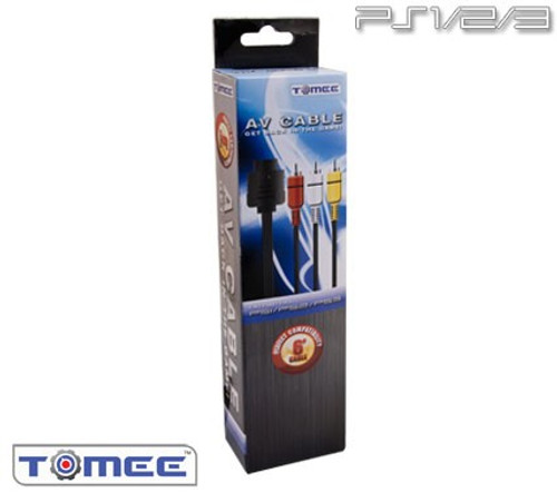 Playstation 1 / 2 AV Cable (Tomee)