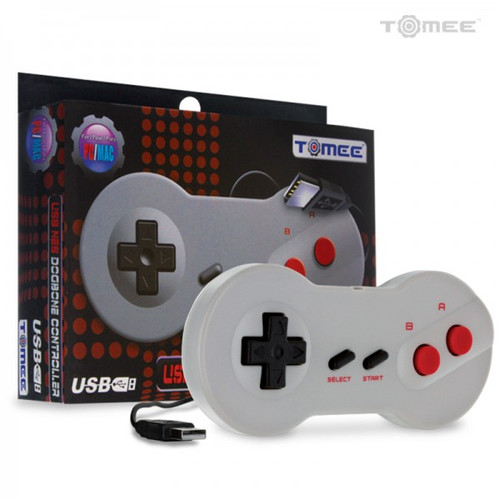 "PC/Mac ""Dog Bone"" NES USB Controller (Tomee)"