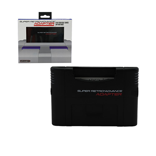 Super Retro Advance (GBA to SNES Adapter)