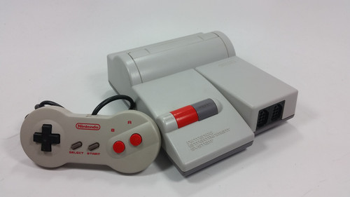 NES Toploader Console with Modded Audio/Video