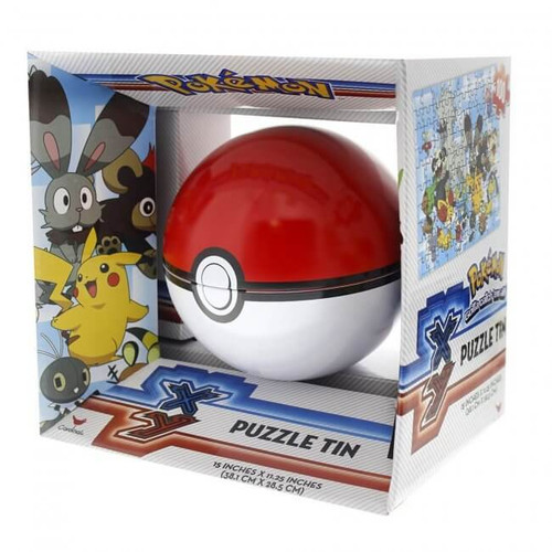 Poke Ball Puzzle Tin
