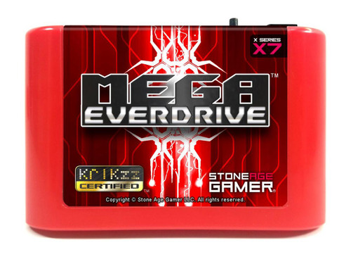 Mega EverDrive X7 (Flame Red)