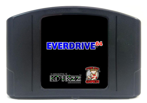EverDrive64 v2.X (All Black)